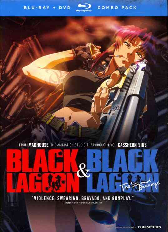 BLACK LAGOON:COMPLETE SET BY BLACK LAGOON (Blu-Ray)